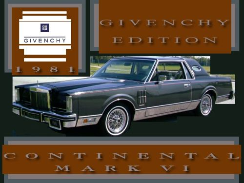 givenchy 1982 lincoln continental wiring diagram 1985 lincoln continental givenchy 1982. Black Bedroom Furniture Sets. Home Design Ideas