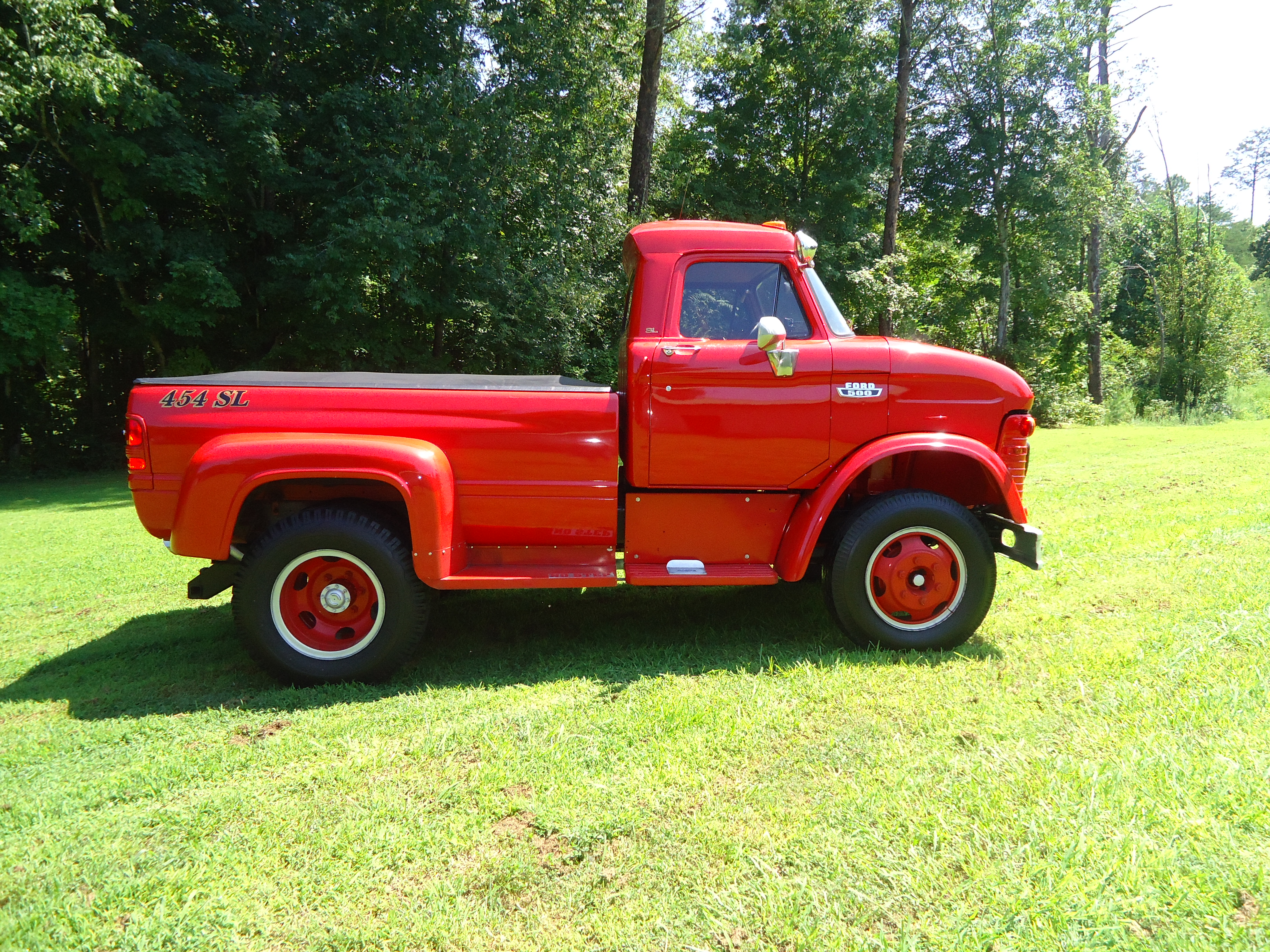 Storage Yard Classic 1963 70 Ford N Series Trucks 1961 Dump Truck