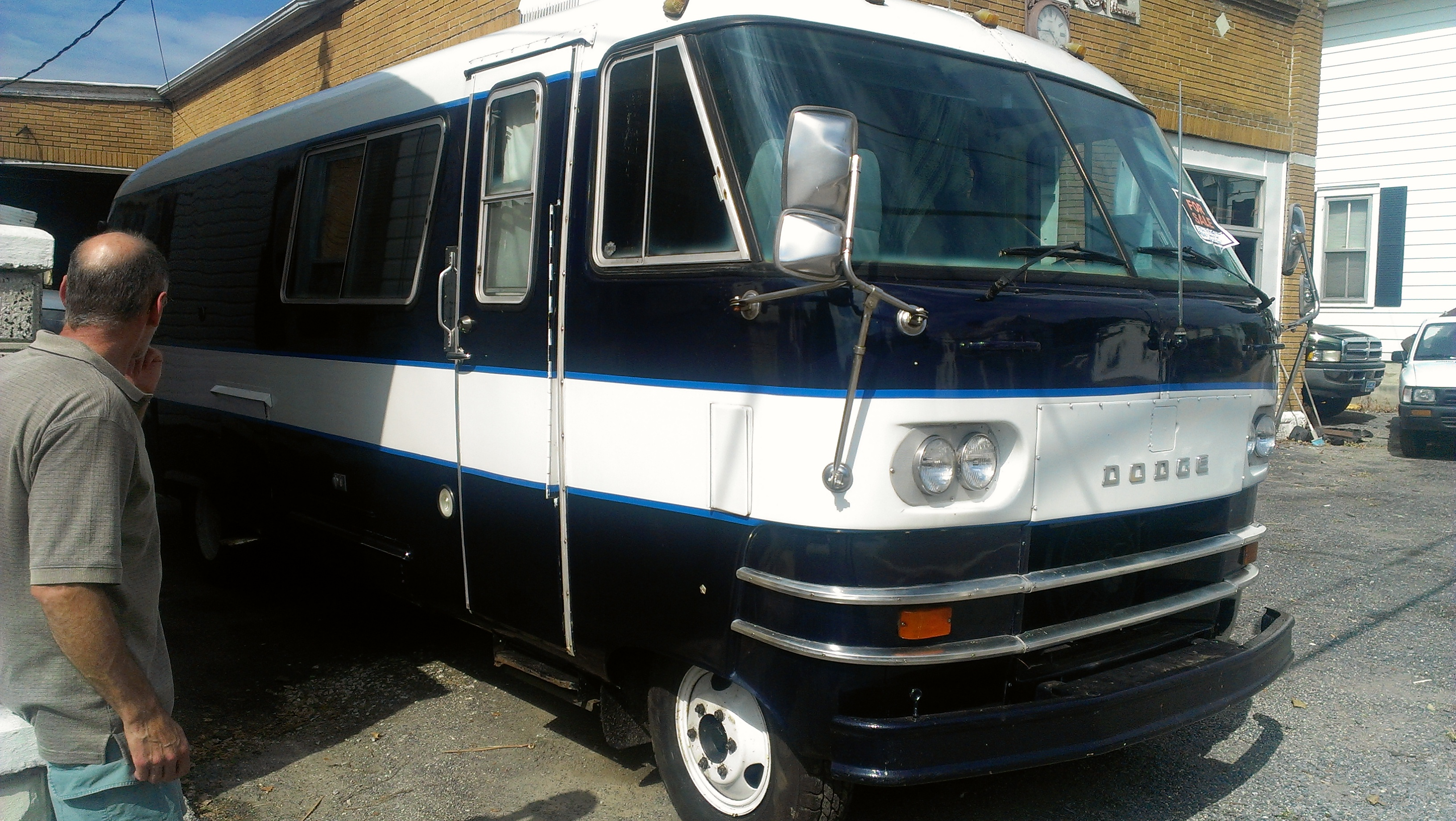 CC Capsule: Two Old Dodge Motorhomes – A Study In Contrasts