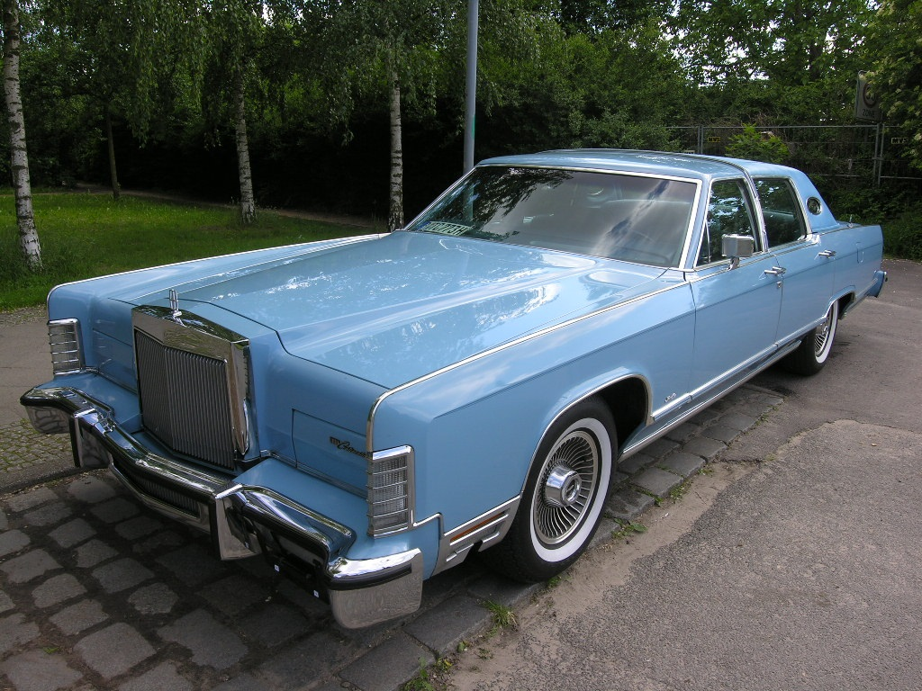 Curbside Classic 1978 Lincoln Continental Town Coupe