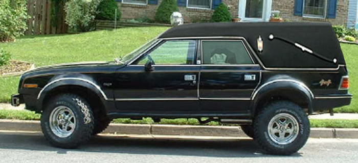 Cc For Sale 1979 Amc Concord Bureau Of Indian Affairs Hearse The