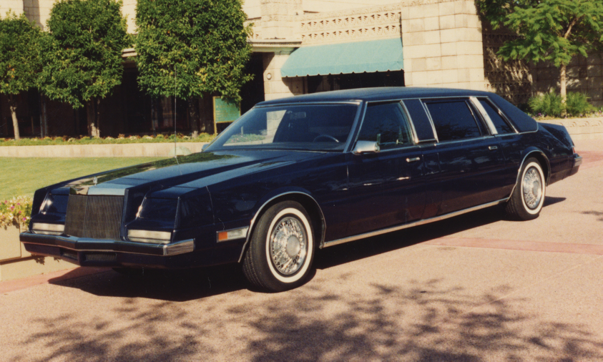 Curbside Classic: 1984 Chrysler Executive Limousine – The Ultimate ...