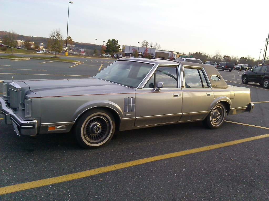 My Curbside Classic 1988 Lincoln Town Car A Tactful Rebuttal