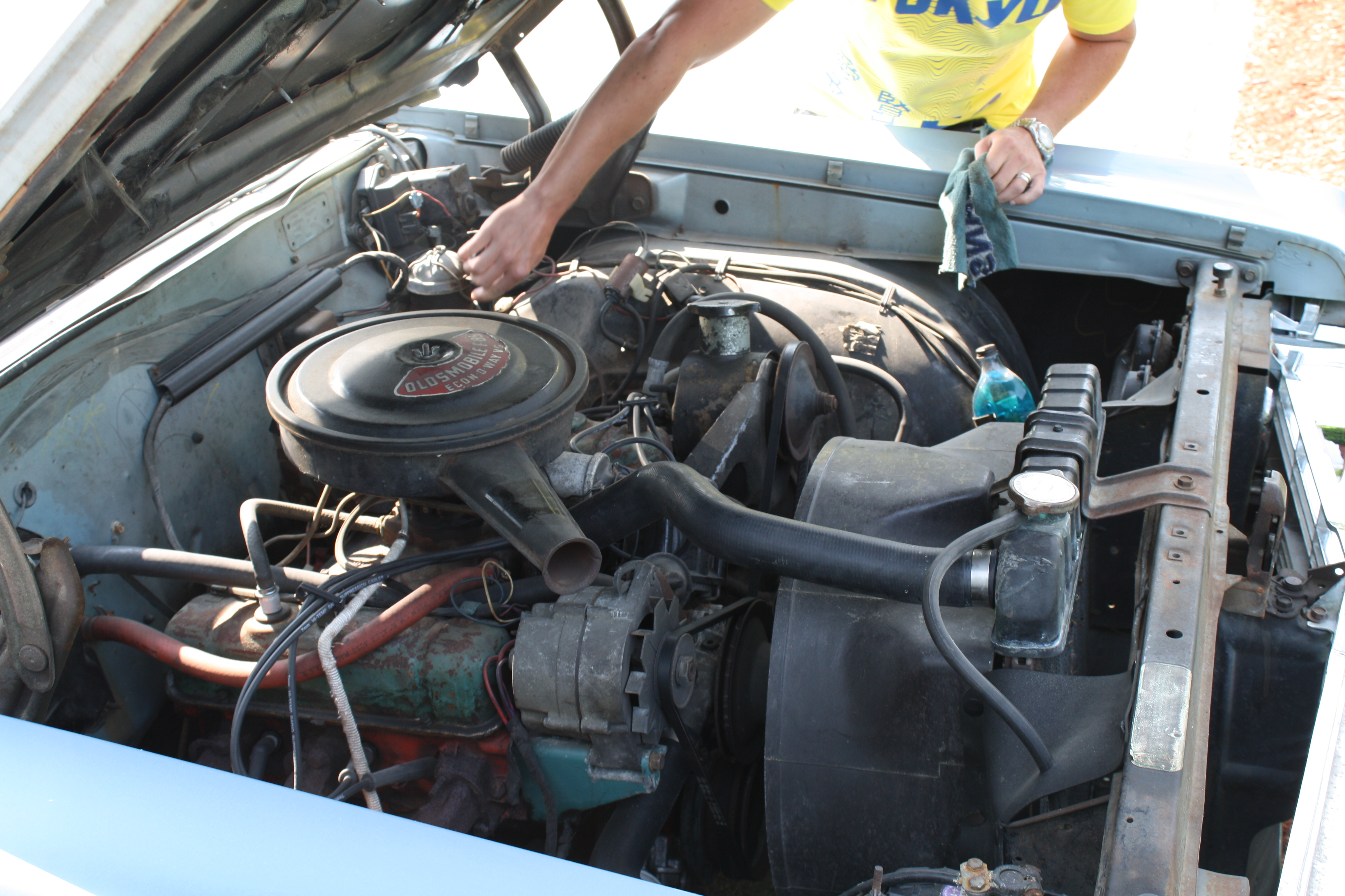 on 1989 Buick Lesabre Engine