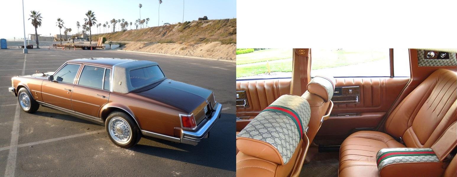 vintage ad seville designed by gucci beyond brougham. Black Bedroom Furniture Sets. Home Design Ideas