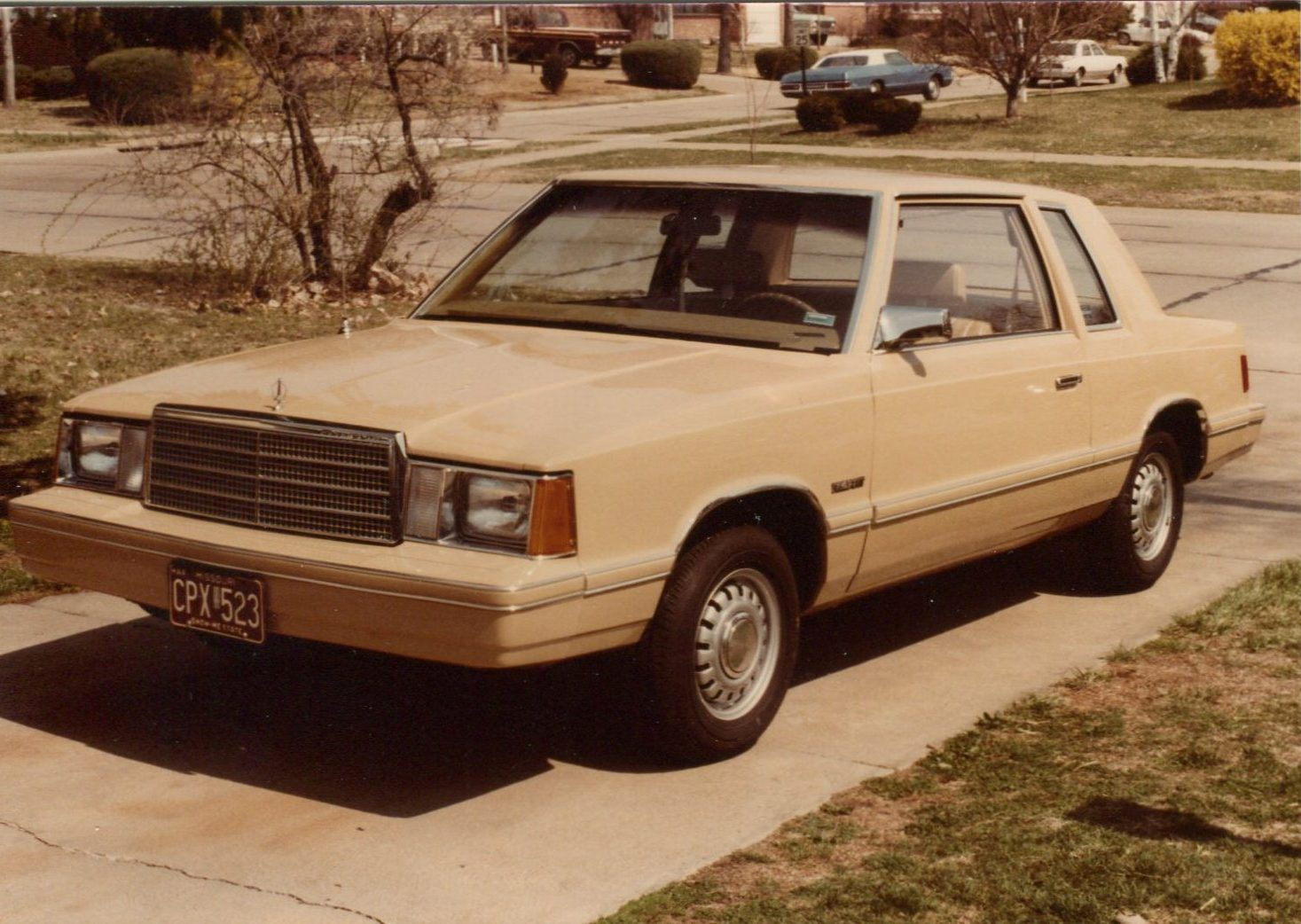 Curbside Classic 1983 Dodge Aries The K Car Saves Chrysler