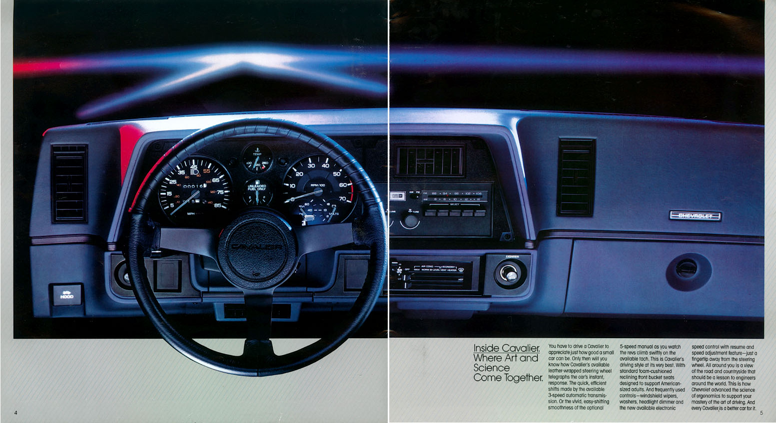 1990 Chevrolet Chevy Cavalier Owners Manual