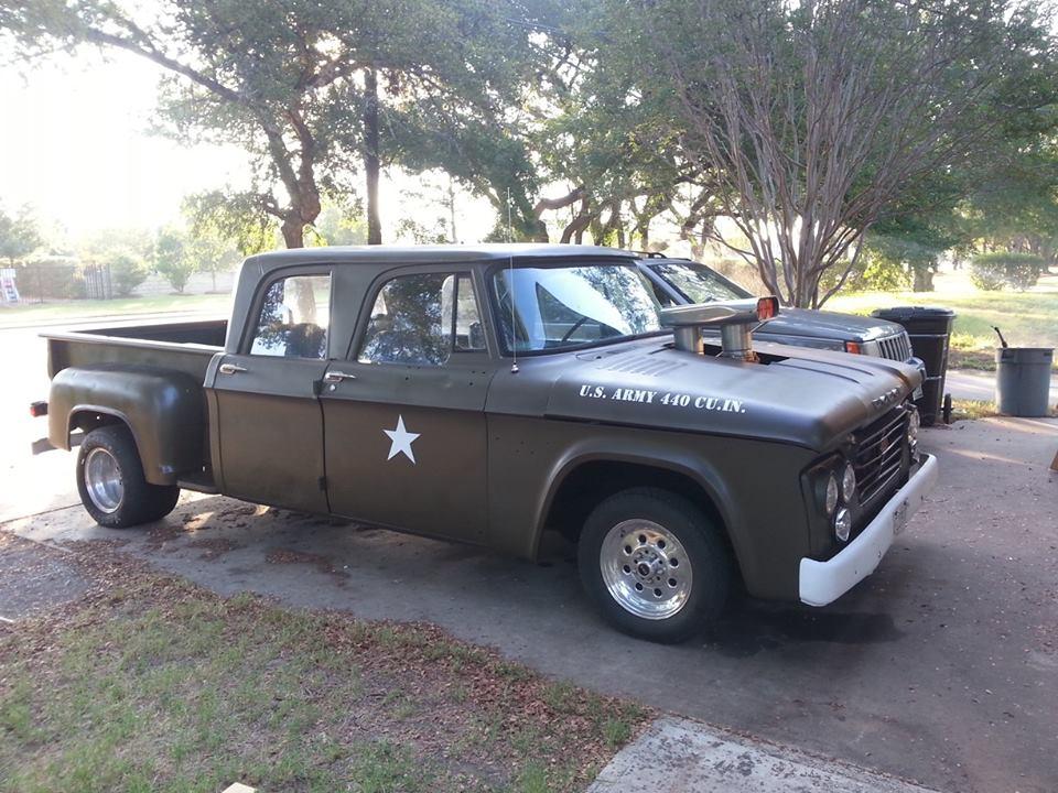 1965 Ram Truck - 1965 Dodge D100 Sweptline Pickup Truck Art Print Black 11x14 1962 1963 1964 ...