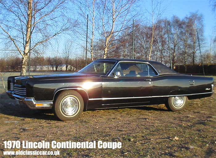 Curbside Clic: 1970 Lincoln Continental Coupe – Hot Rod Lincoln