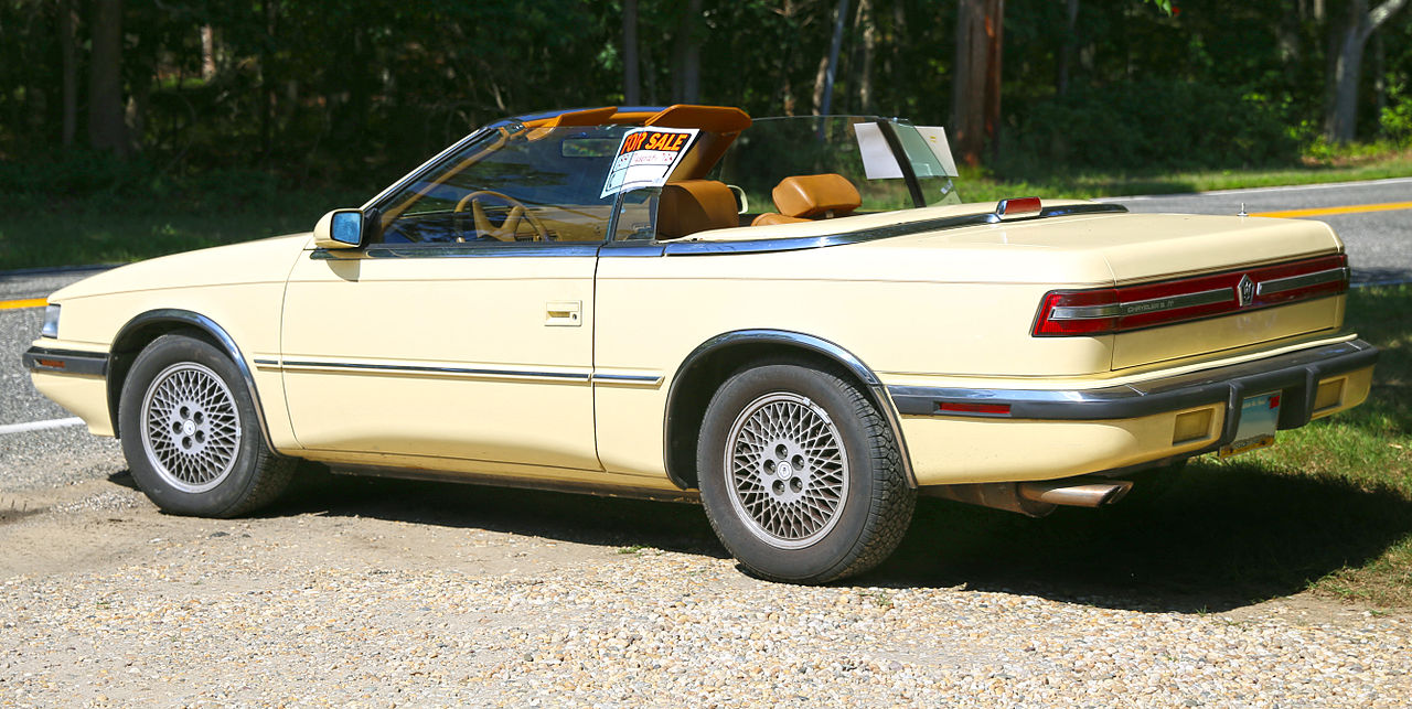 Curbside classic 1989 chrysler s tc by maserati the deadly sin of pretentious overreaching
