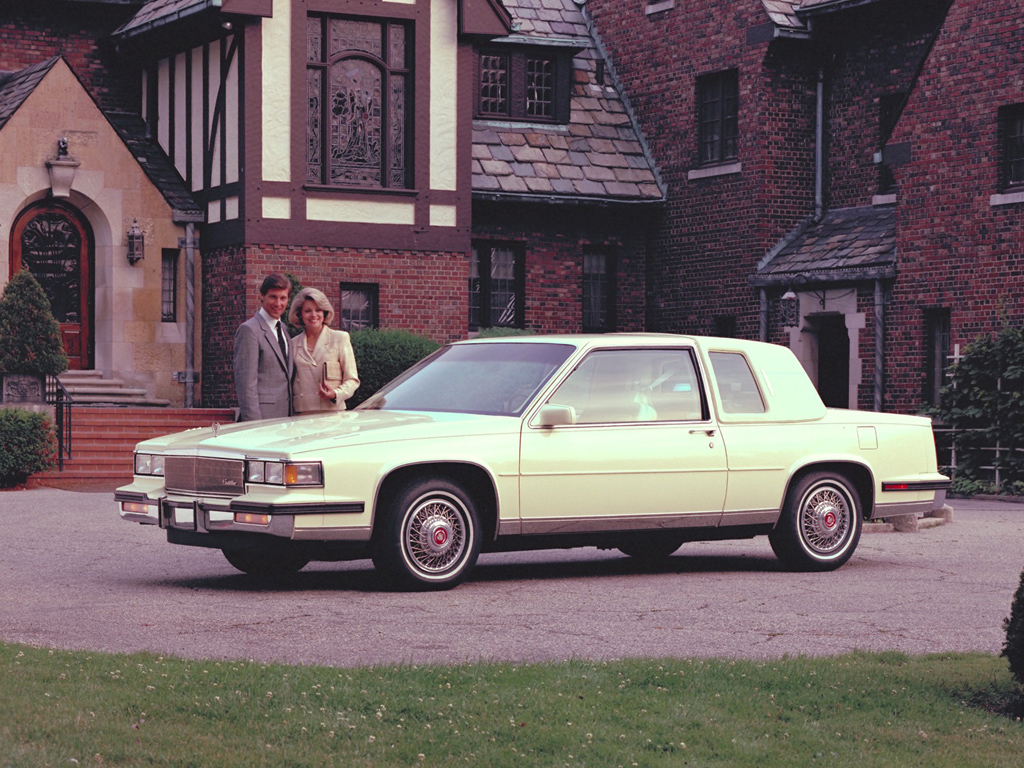 Ebay find 1985 cadillac fleetwood brougham coupe the mayor of broughamville welcomes you
