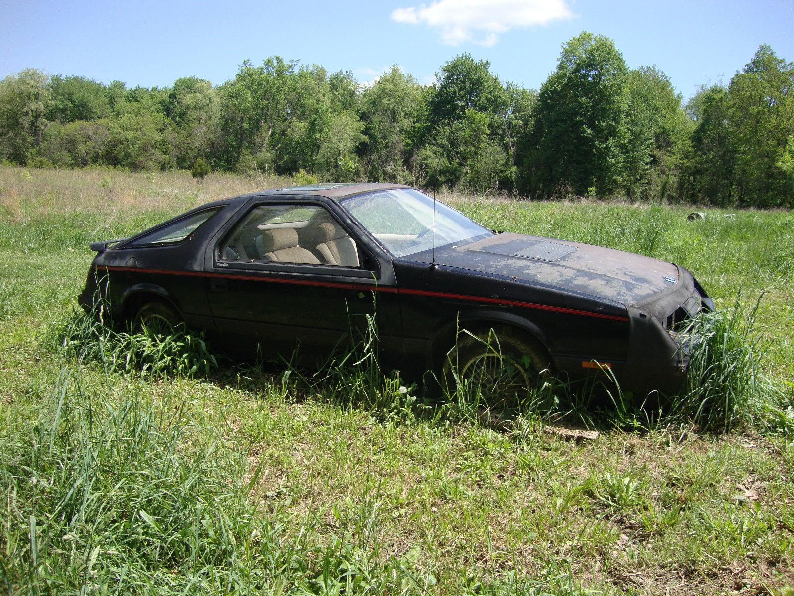 eBay Find: 1984 Chrysler Laser Turbo – Mopar\'s Answer For The Hair ...