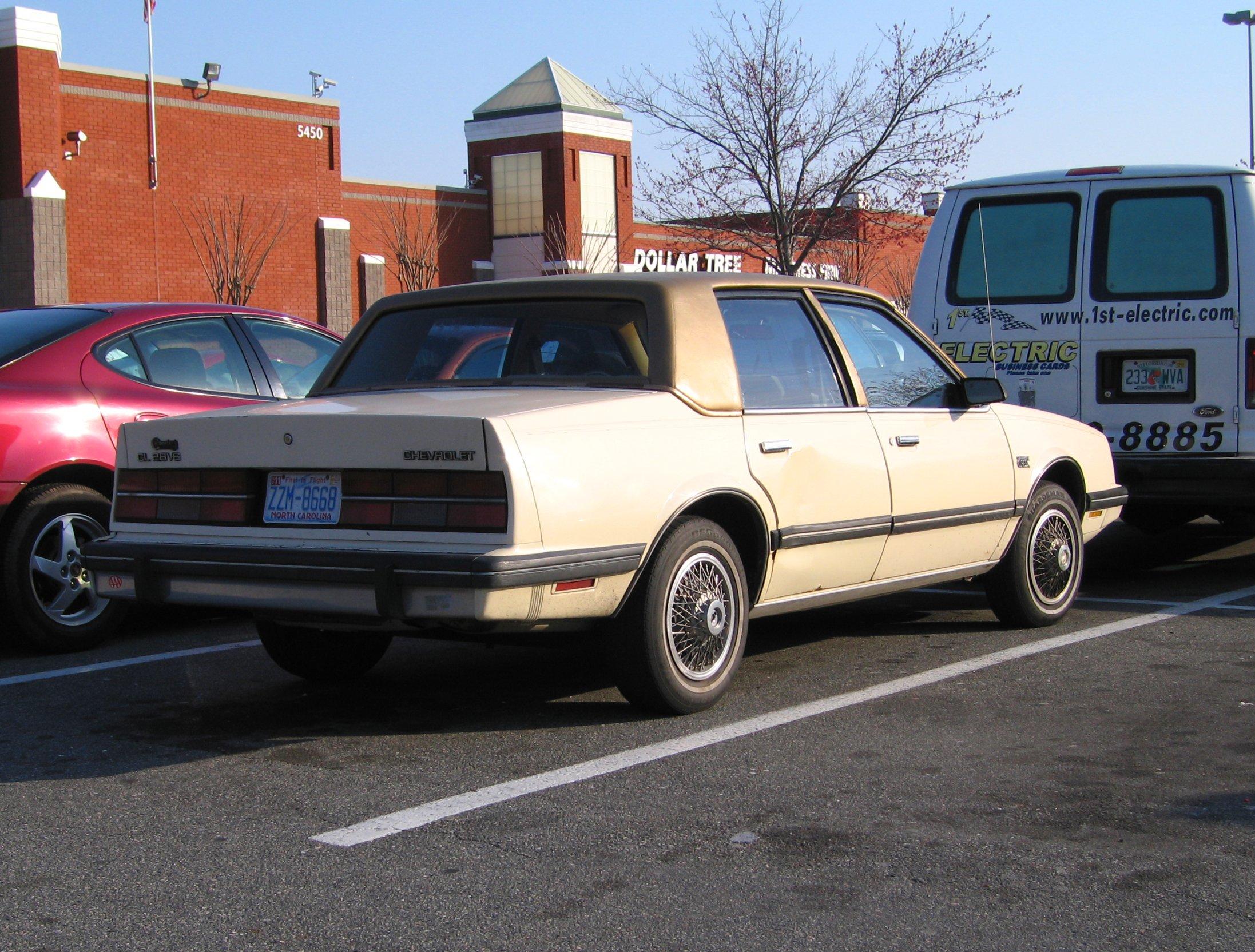 WikiZero - Chevrolet Celebrity