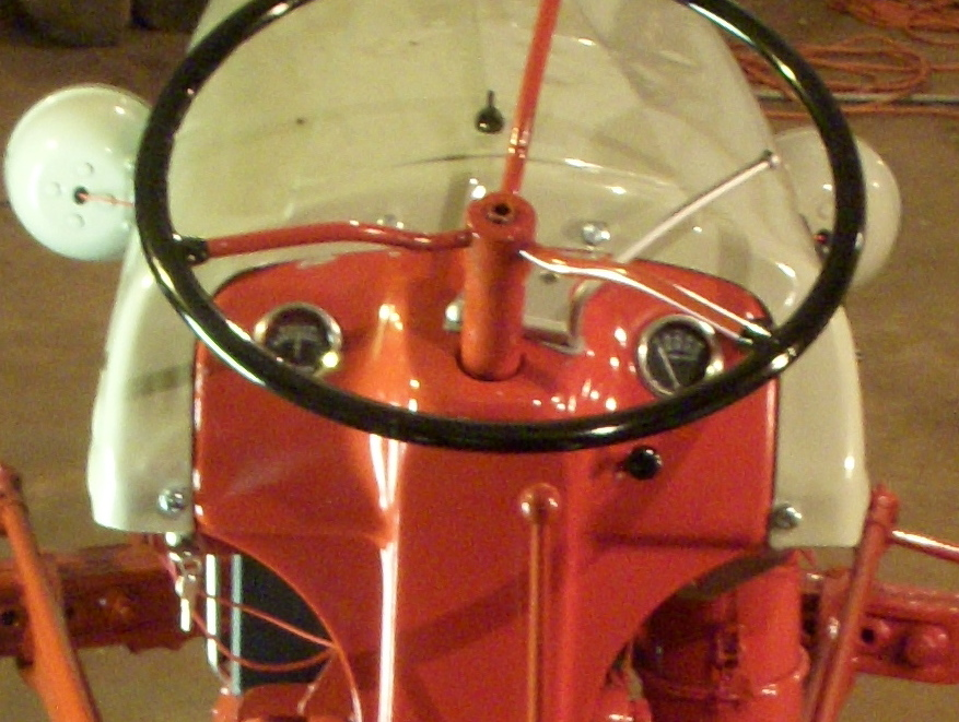 1950 ford f1 wiring harness and gauges