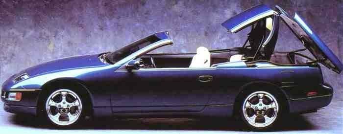I M Supprised Ody Has Mentioned The Original 300zx Convertible Concept That Debuted At Geneva In 92 So Much Better Looking Than What Ended Up Going