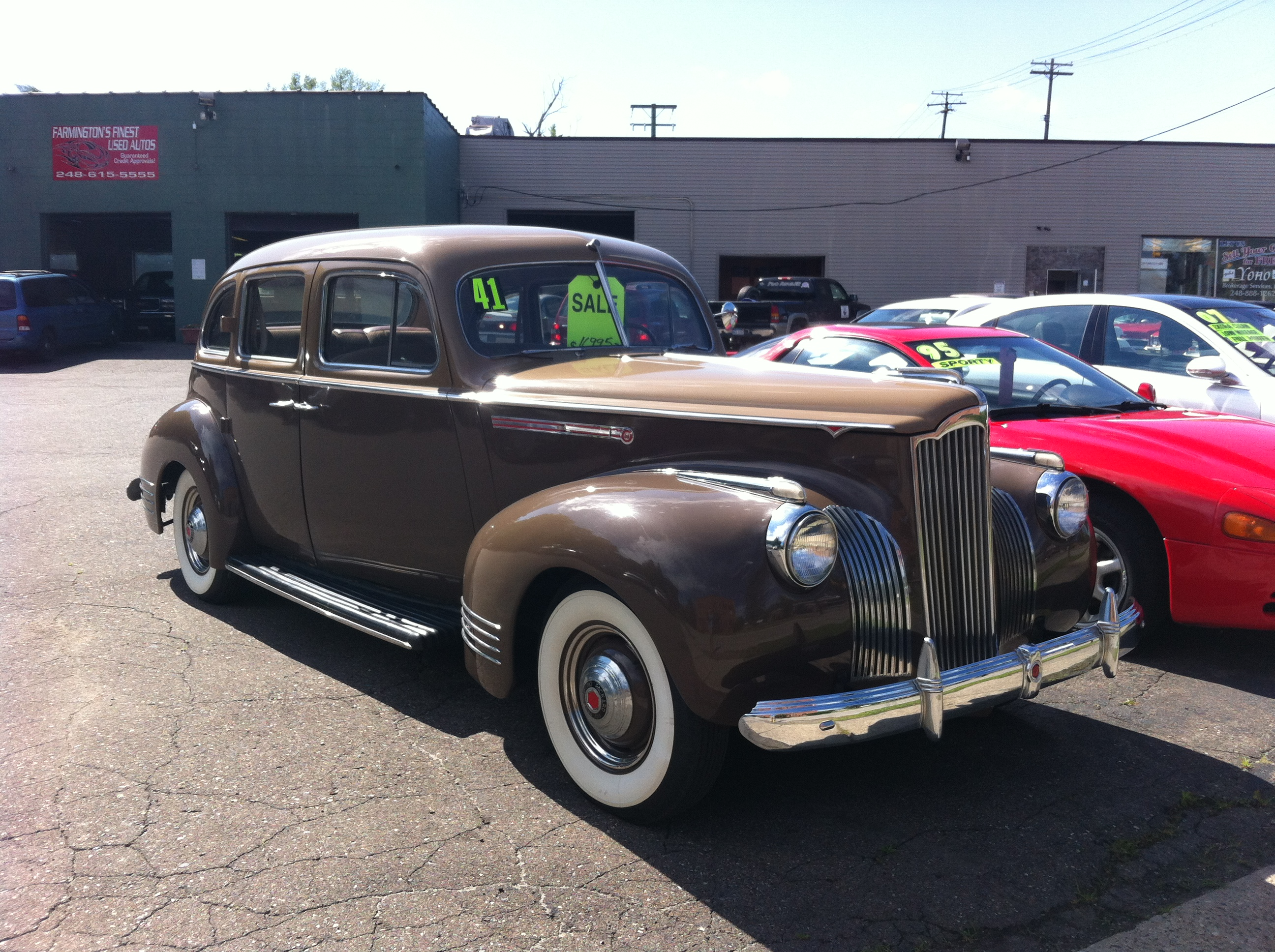 Cc Global American Cars In Pre Communist China The East Is Red Electrical Wiring Diagram For 1941 1948 Studebaker All Trucks Away From Packard Plant It Was Sold Two Weeks Asking 16995 Dealer On Grand River Avenue Be Aware Though They Have Quite Some Tricks