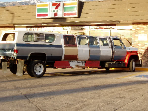 I thought so. I\u0027ve seen a similar thing done with other brands. And then there was the (il)logical conclusion\u2026 & CC Capsule: 1970 Dodge Double Cab Pickup 2012 GMC Single Cab ...