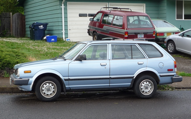 Curbside Classic 1987 Honda Civic 4wd Wagon Shuttle The