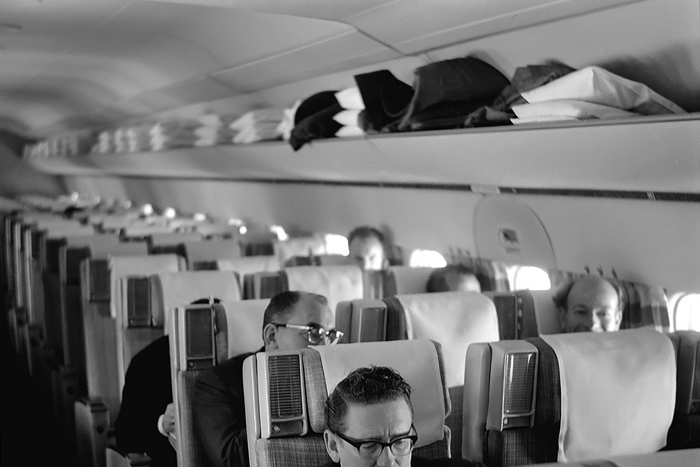 File:SAS DC-8-33 Interior and design before delivery, cabin and ...