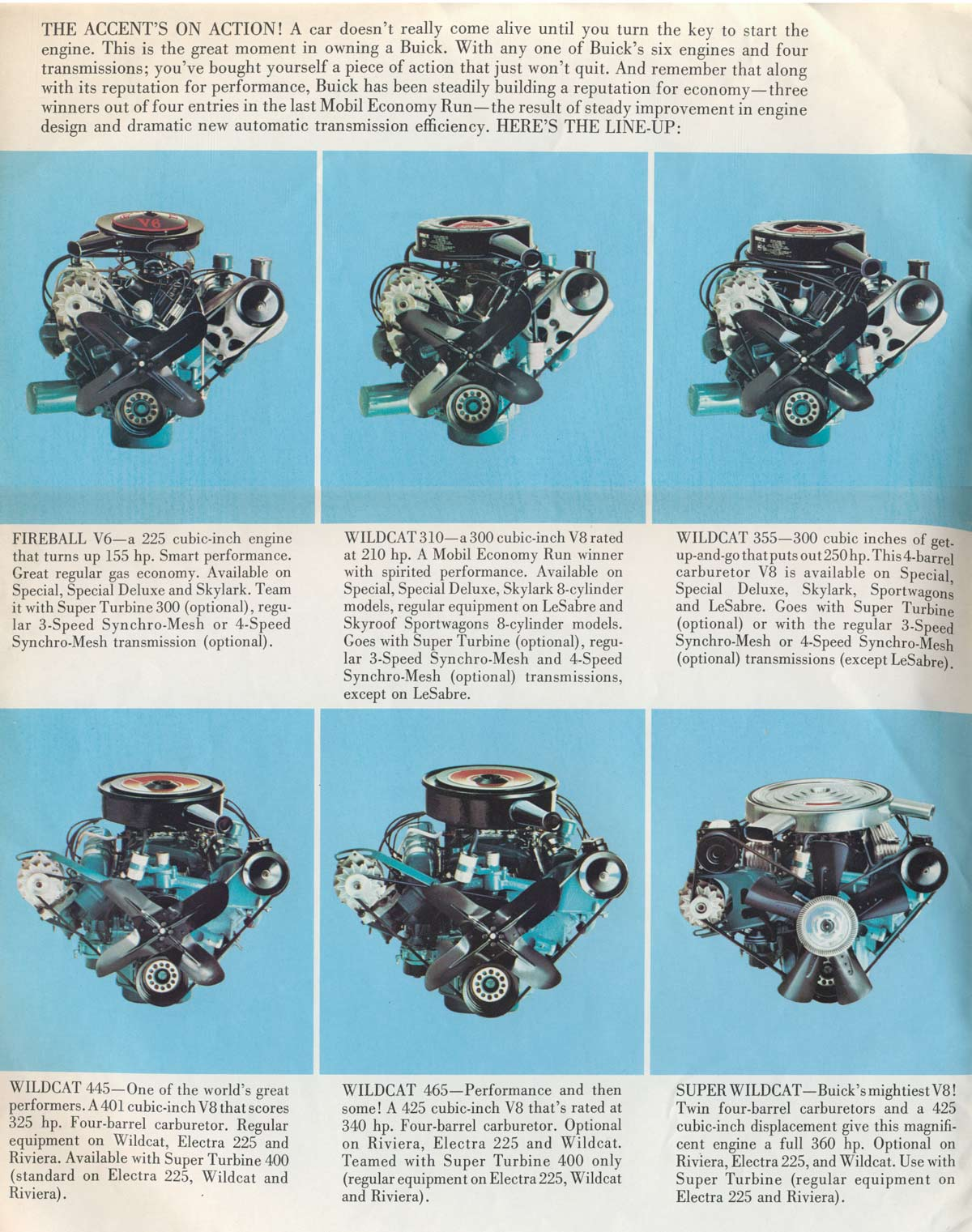 Automotive history the legendary buick nailhead v8 and the this is from a canadian brochure so the details in the text differ from what would be written in a us brochure sciox Gallery