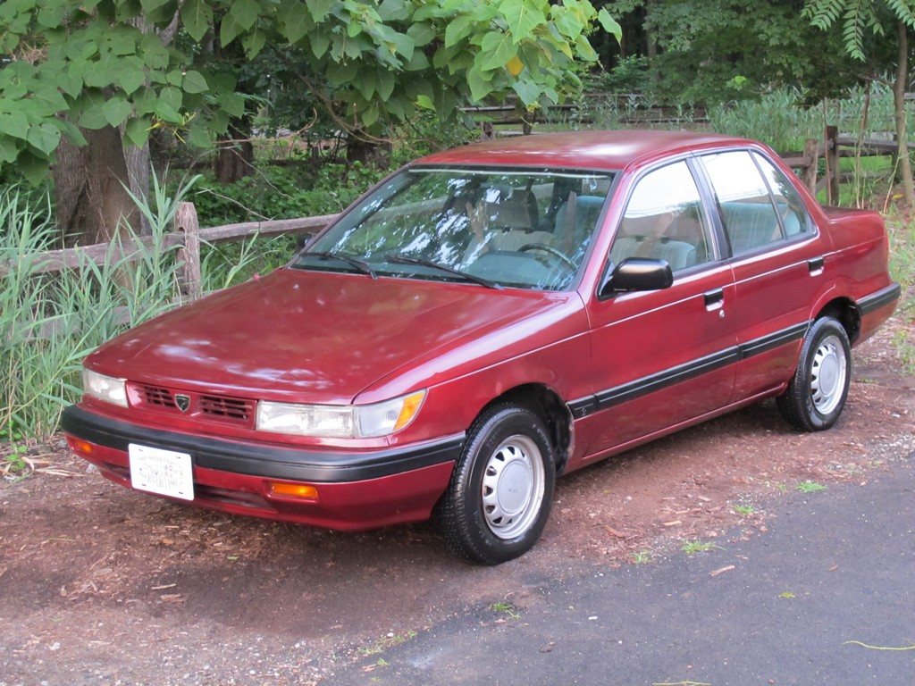 On Another Note This Slightly Smaller Mitsubishi Mirage Clone The US Market Eagle Summit Sedan Was EBay About Two Years Ago I Saved Some Pictures
