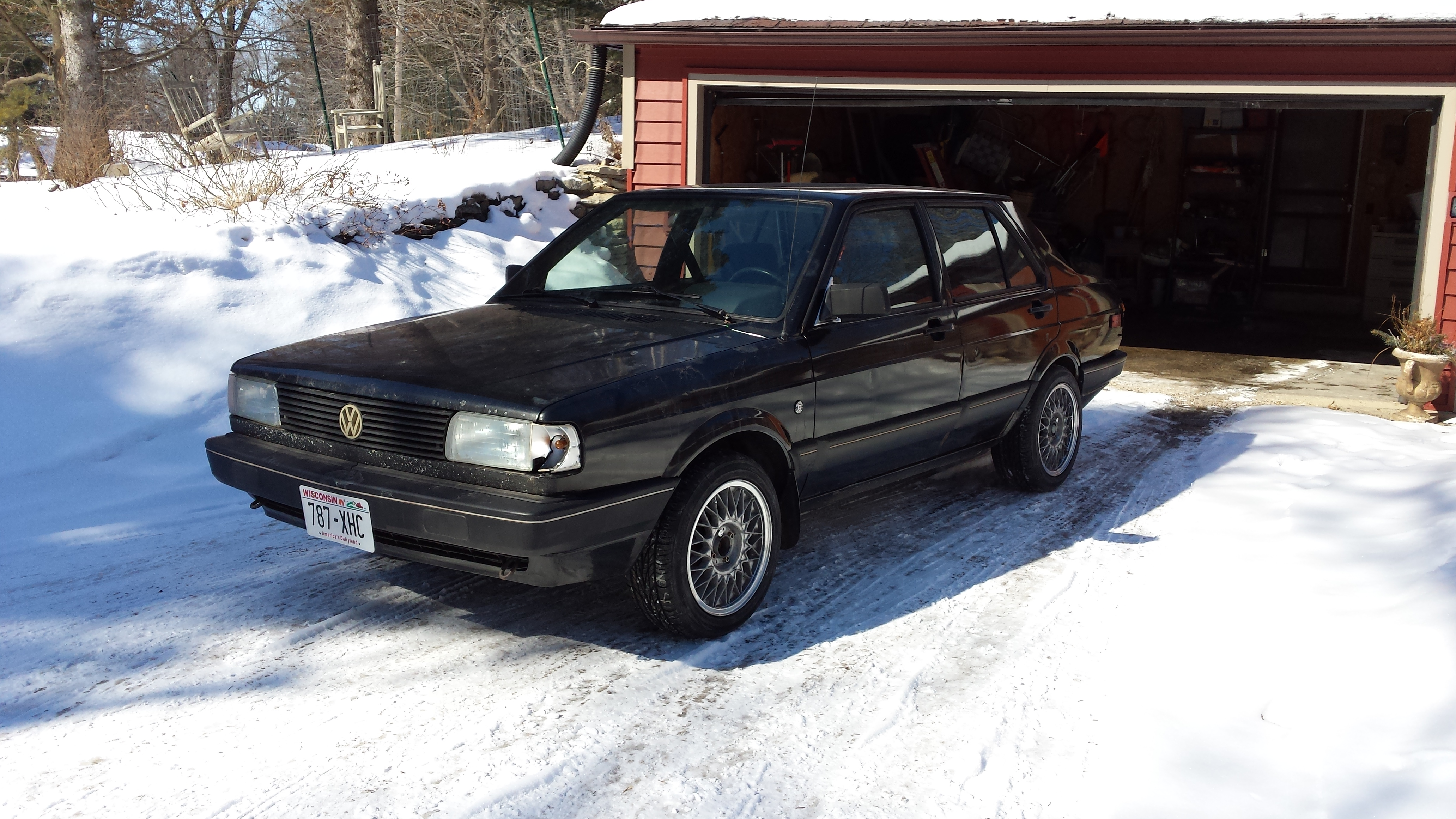Curbside Classic 1987 Volkswagen Fox This German Fox Has A