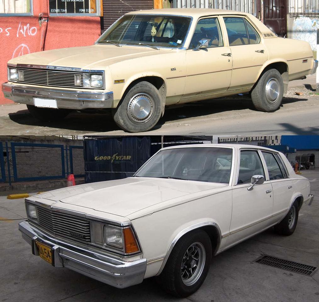 Malibu chevy classic malibu : Curbside Classic: 1981 Chevrolet Malibu Classic – A Wallflower ...