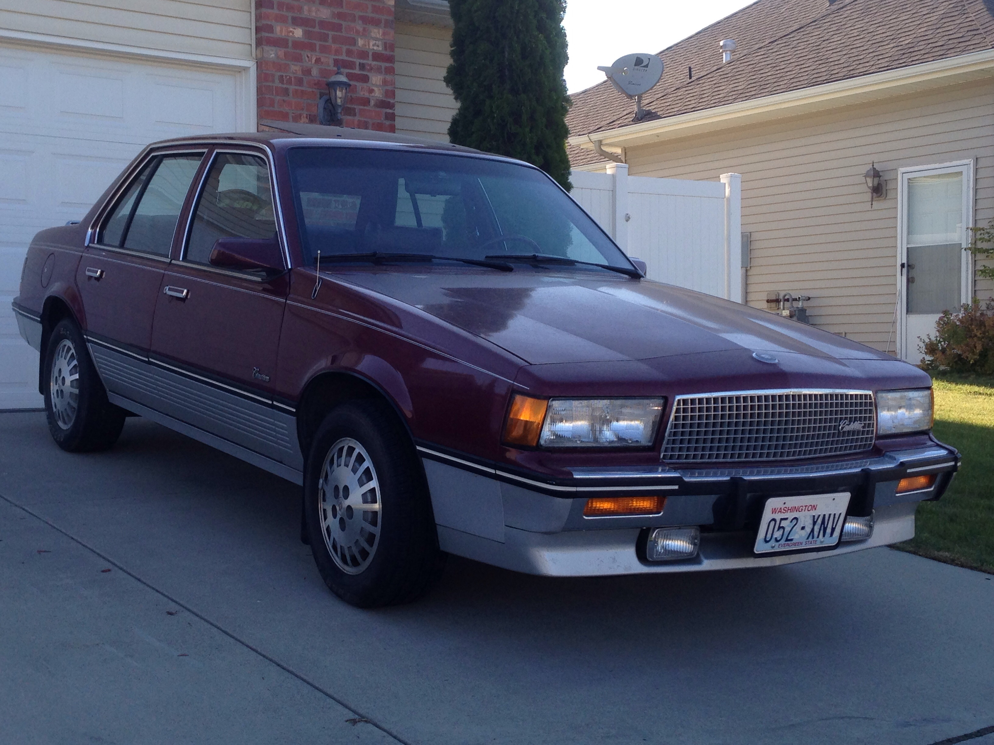 Cohort Clic: 1987-88 Cadillac Cimarron – Could This Be The Nicest