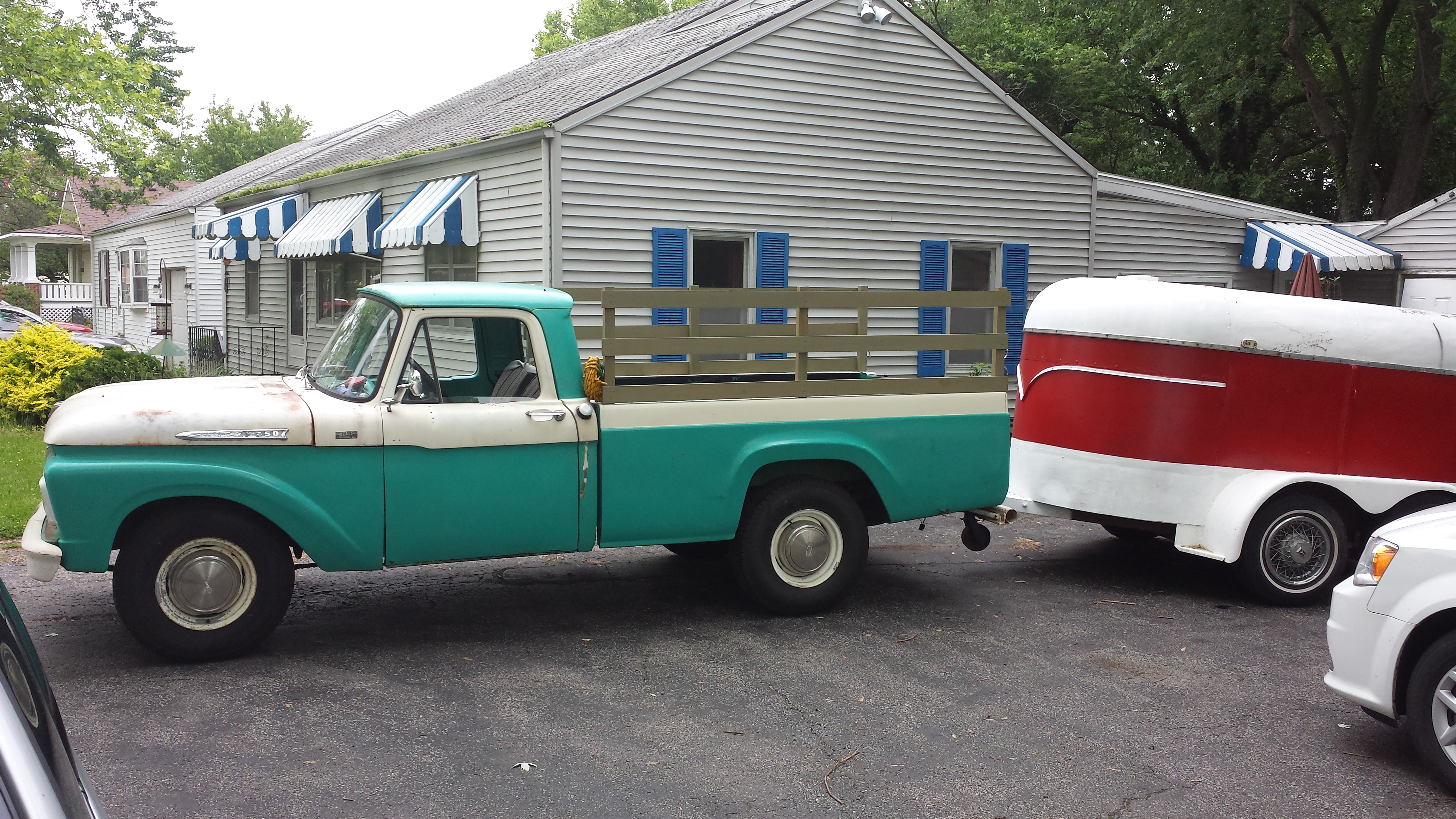 Curbside classic 1962 ford styleside f 100 pickup that most feminine truck
