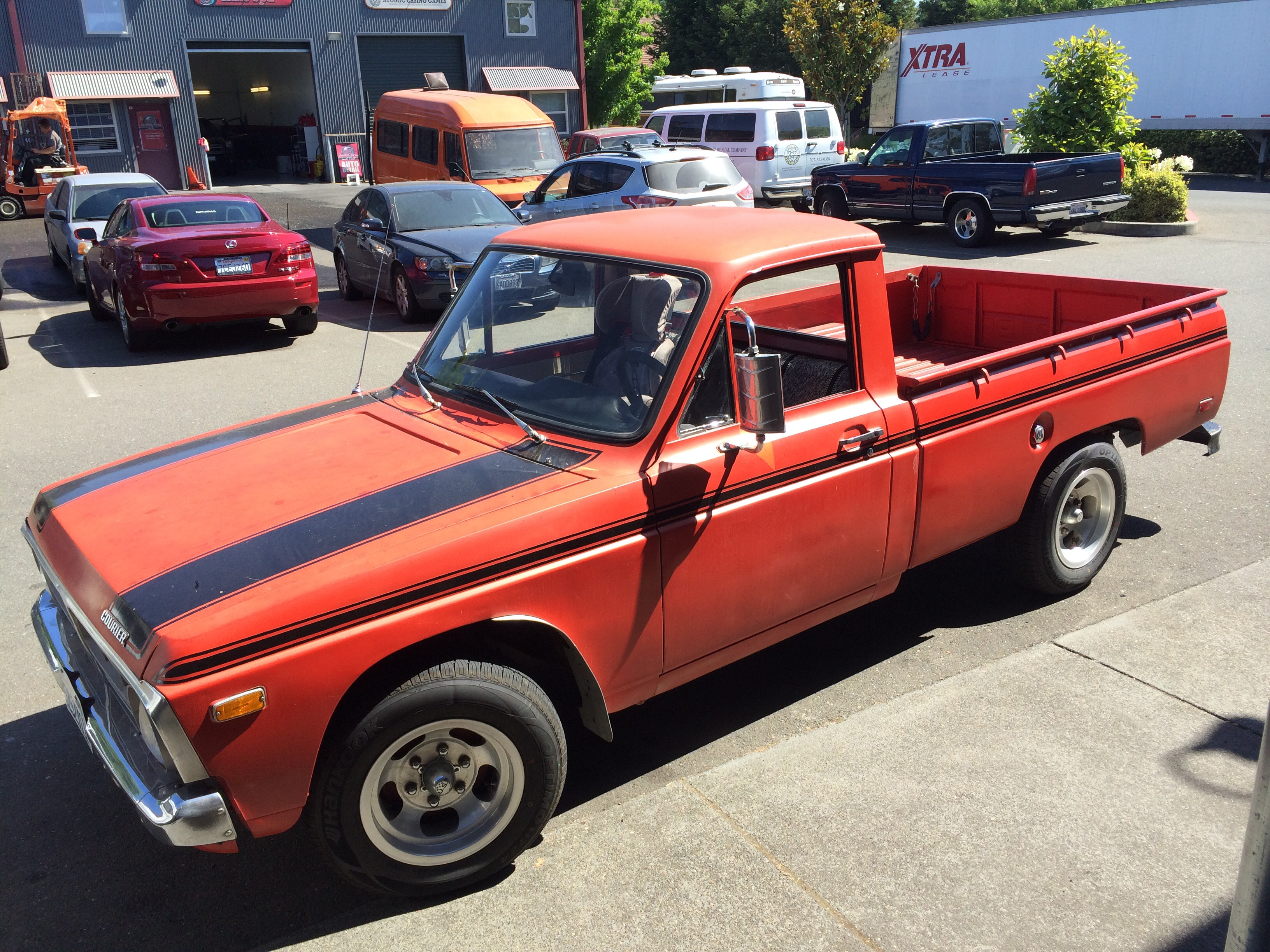 curbside classic 1976 ford courier the second toughest old mini pickup. Black Bedroom Furniture Sets. Home Design Ideas