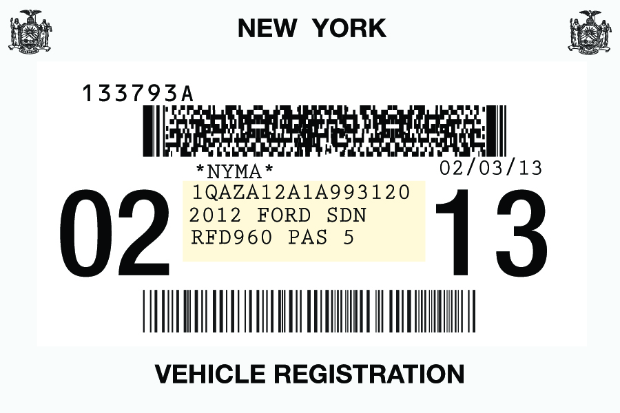 Vehicle registration new york vehicle ideas for Ny motor vehicle inspection