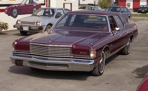 Curbside Clic: 1974-77 Plymouth Gran Fury – Struck By Oil