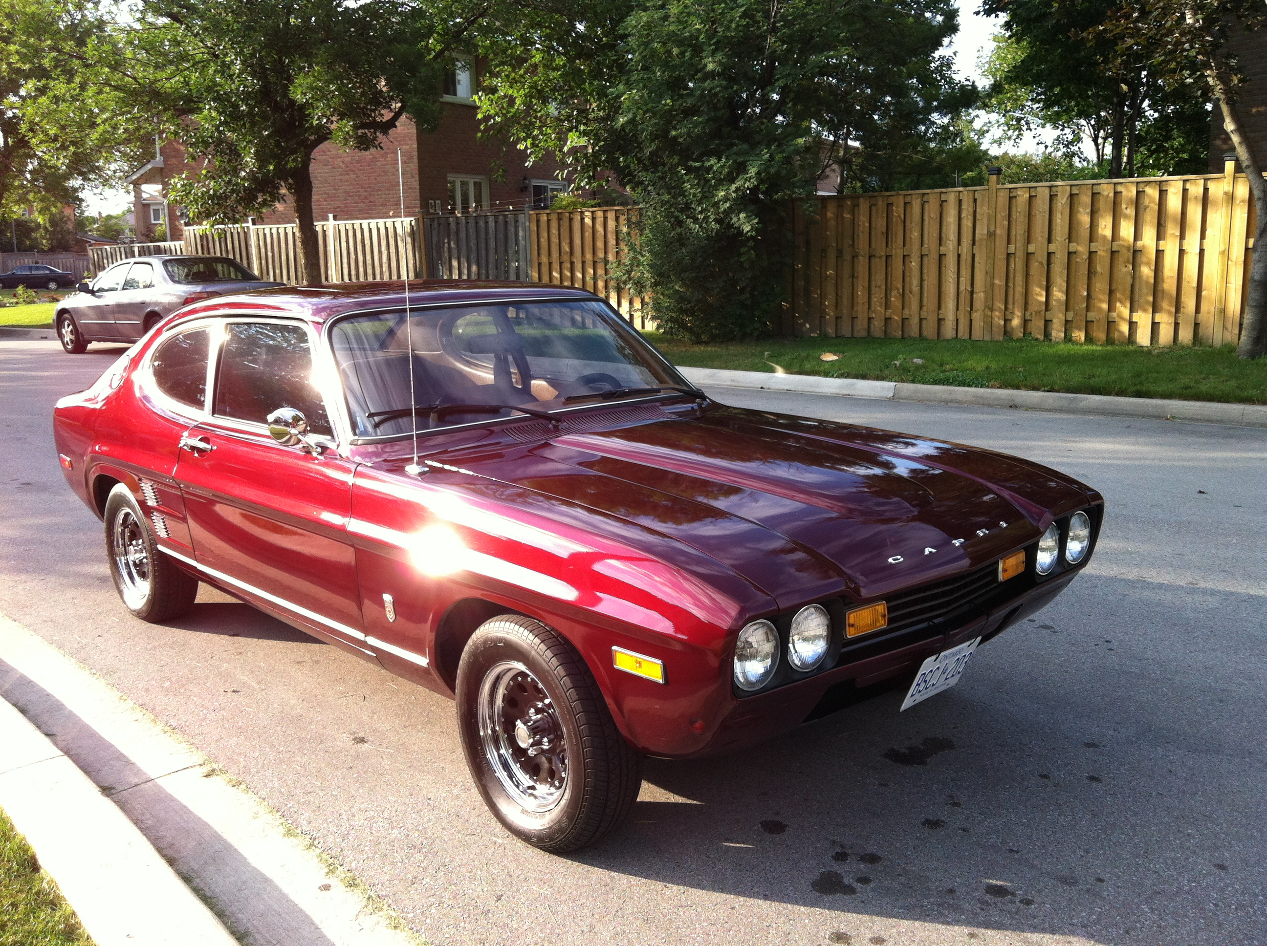 curbside classic 1973 mercury capri get yours today at the sign of the cat. Black Bedroom Furniture Sets. Home Design Ideas