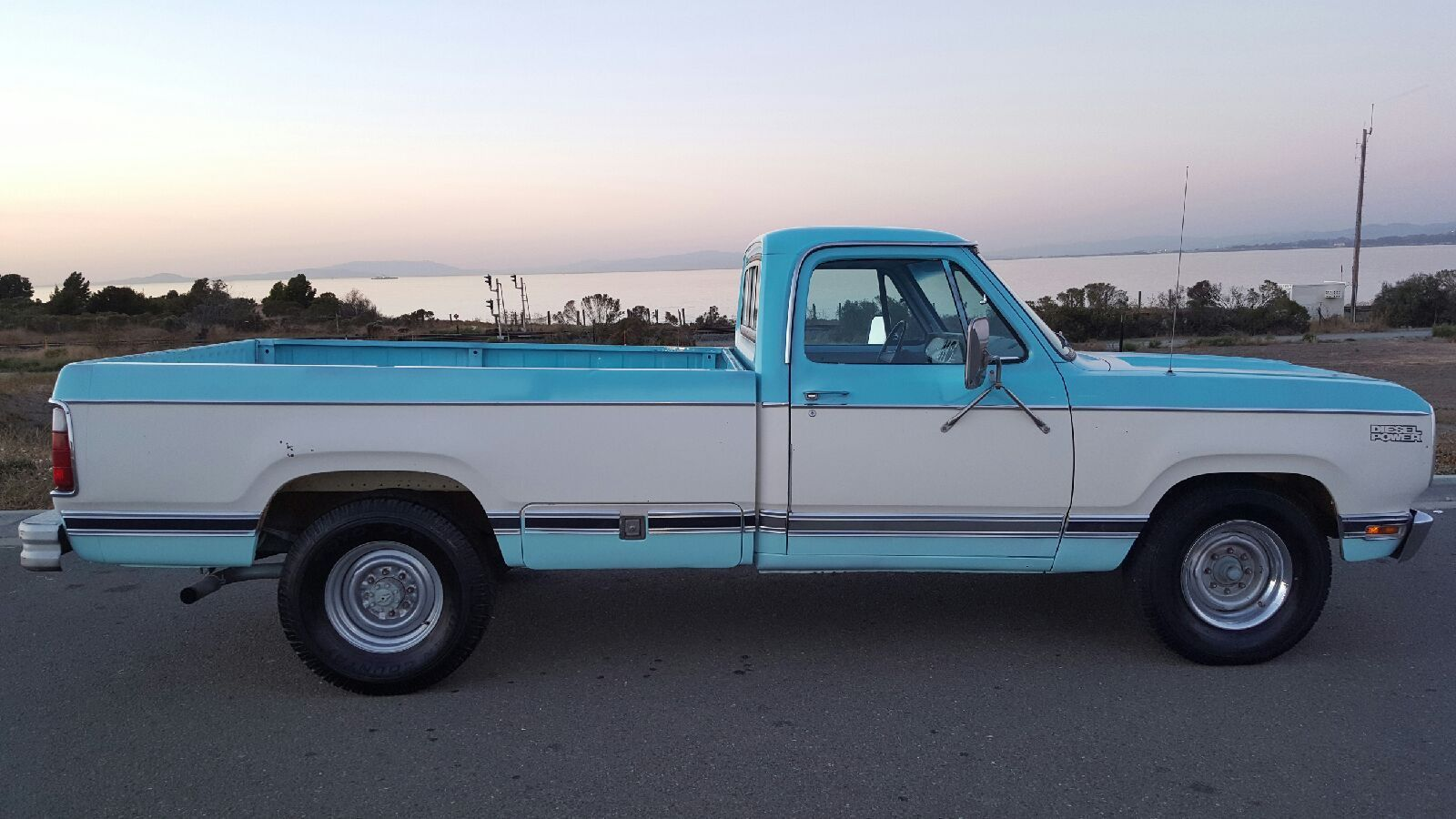 Automotive history the case of the very rare 1978 dodge diesel pickup and the missing diesel van