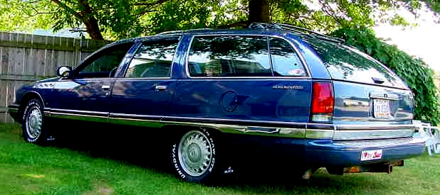 glass buick roadmaster 70