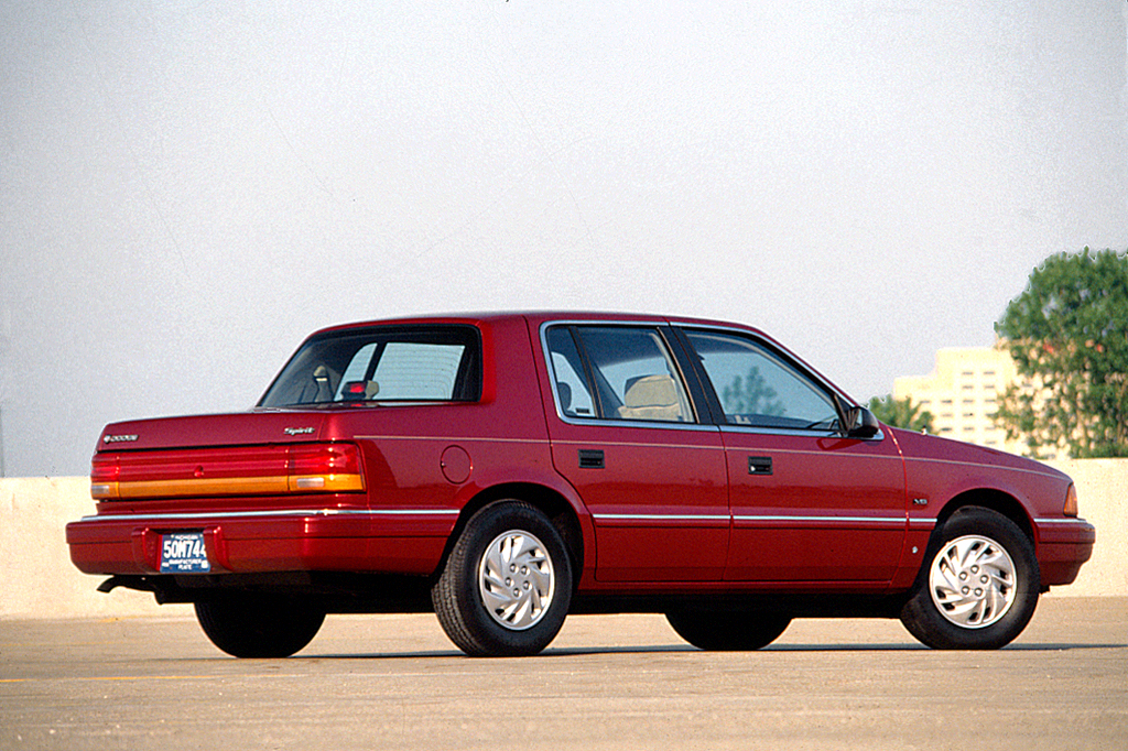 Curbside Classic: 1989-95 Dodge Spirit – Worthy Of Some Acclaim