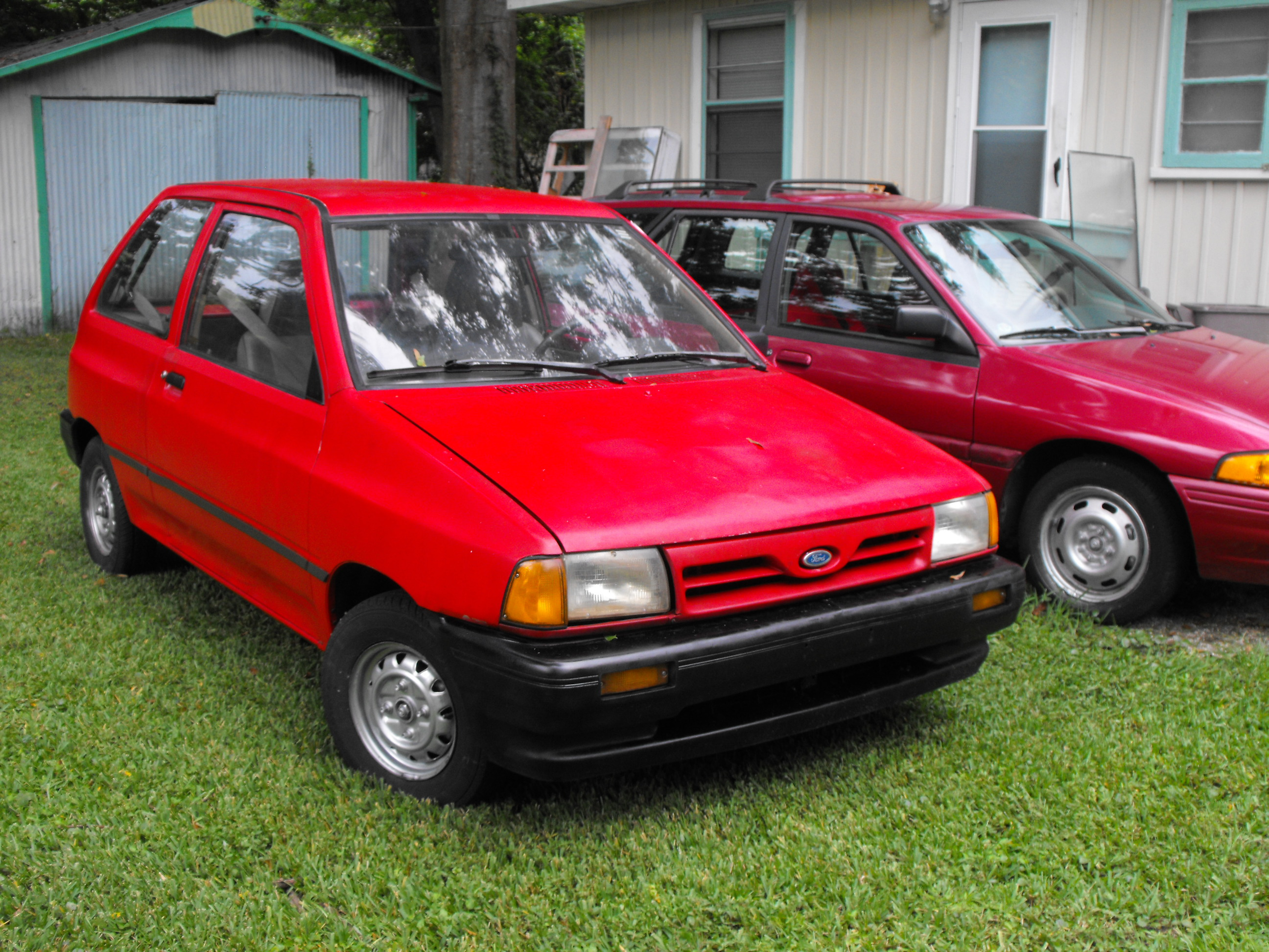 Carried A Spinet Piano In The Back Once Always No Seat For More Cargo Driven Festiva Or Aspire Same Motor And Drivetrain Basically Ever Since