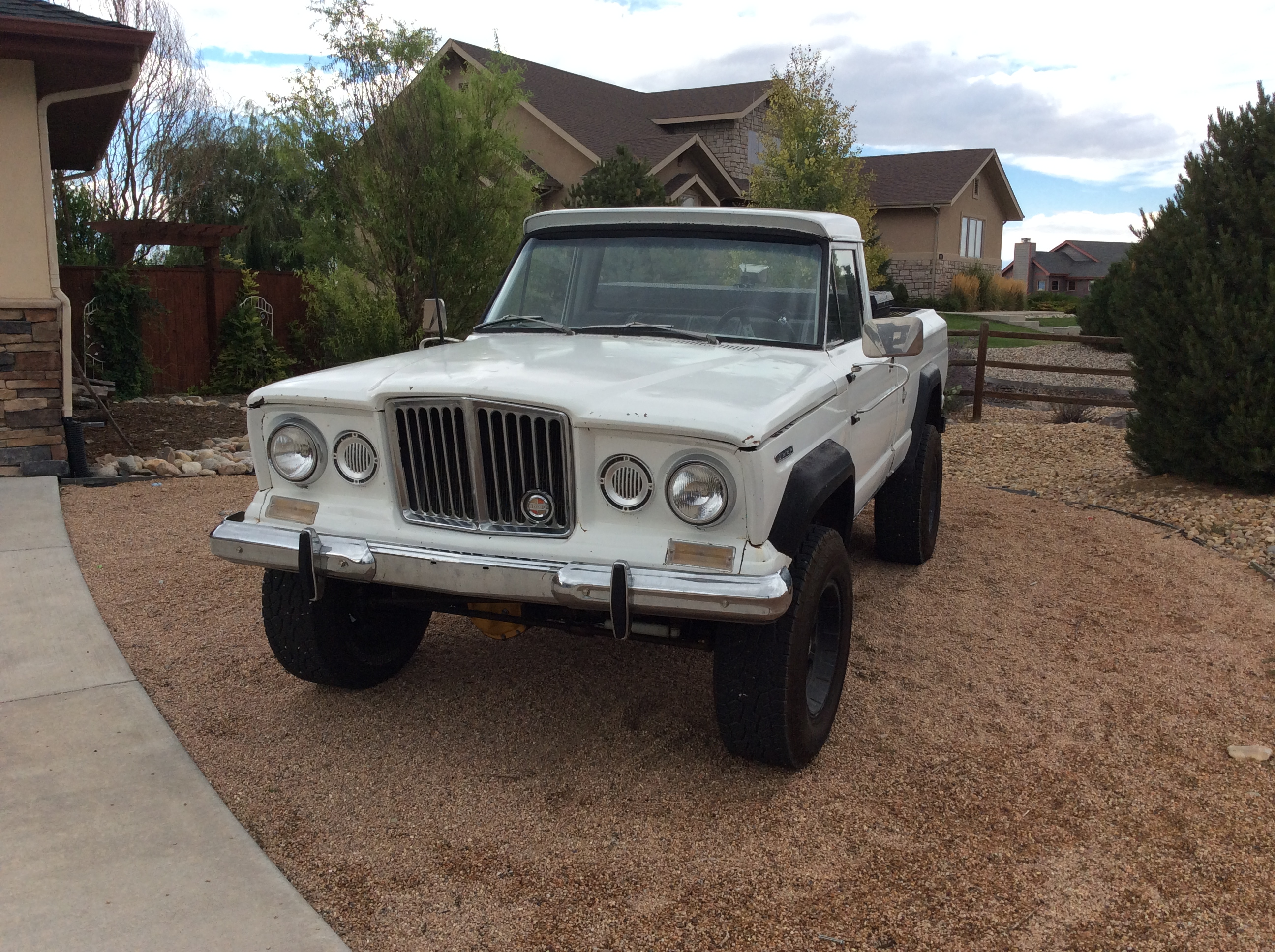 Curbside Classic 1967 Jeep Gladiator J3000 – The Truck The Future