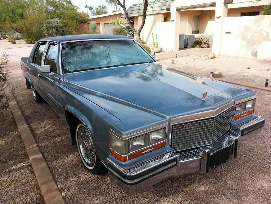 COAL: 1987 Cadillac Brougham – From A Curbside Classic To My ...