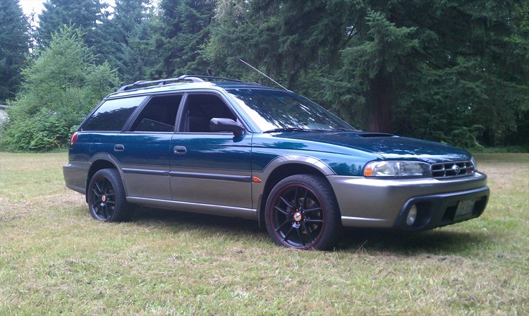 CC Outtake 1999 Subaru Legacy Outback SUS Limited 30th Anniversary Edition Now Thats A Mouthful