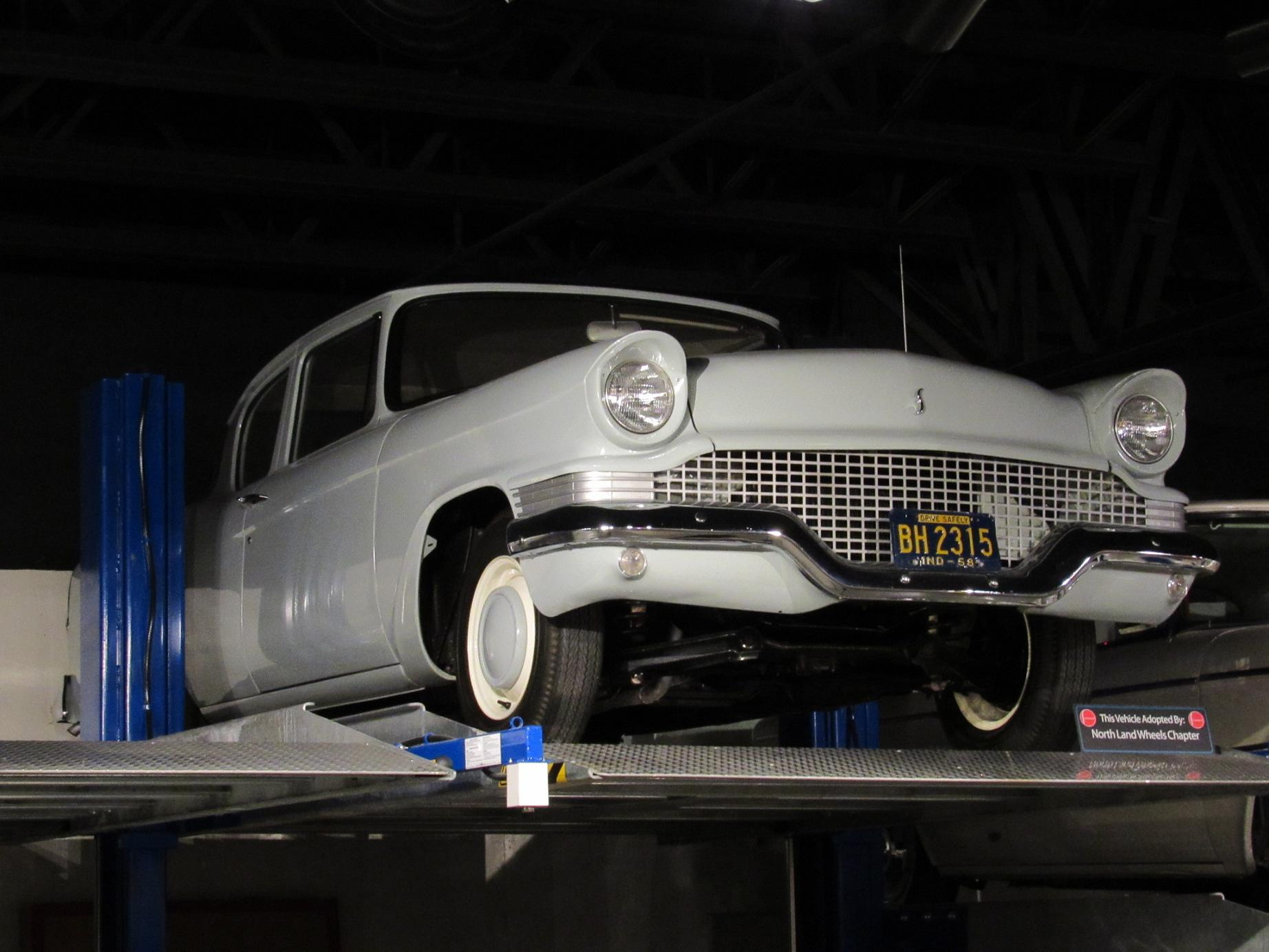 It actually sold in some quantity and gave management the impetus to develop the lark thanks to the lark studebaker made a profit in 59