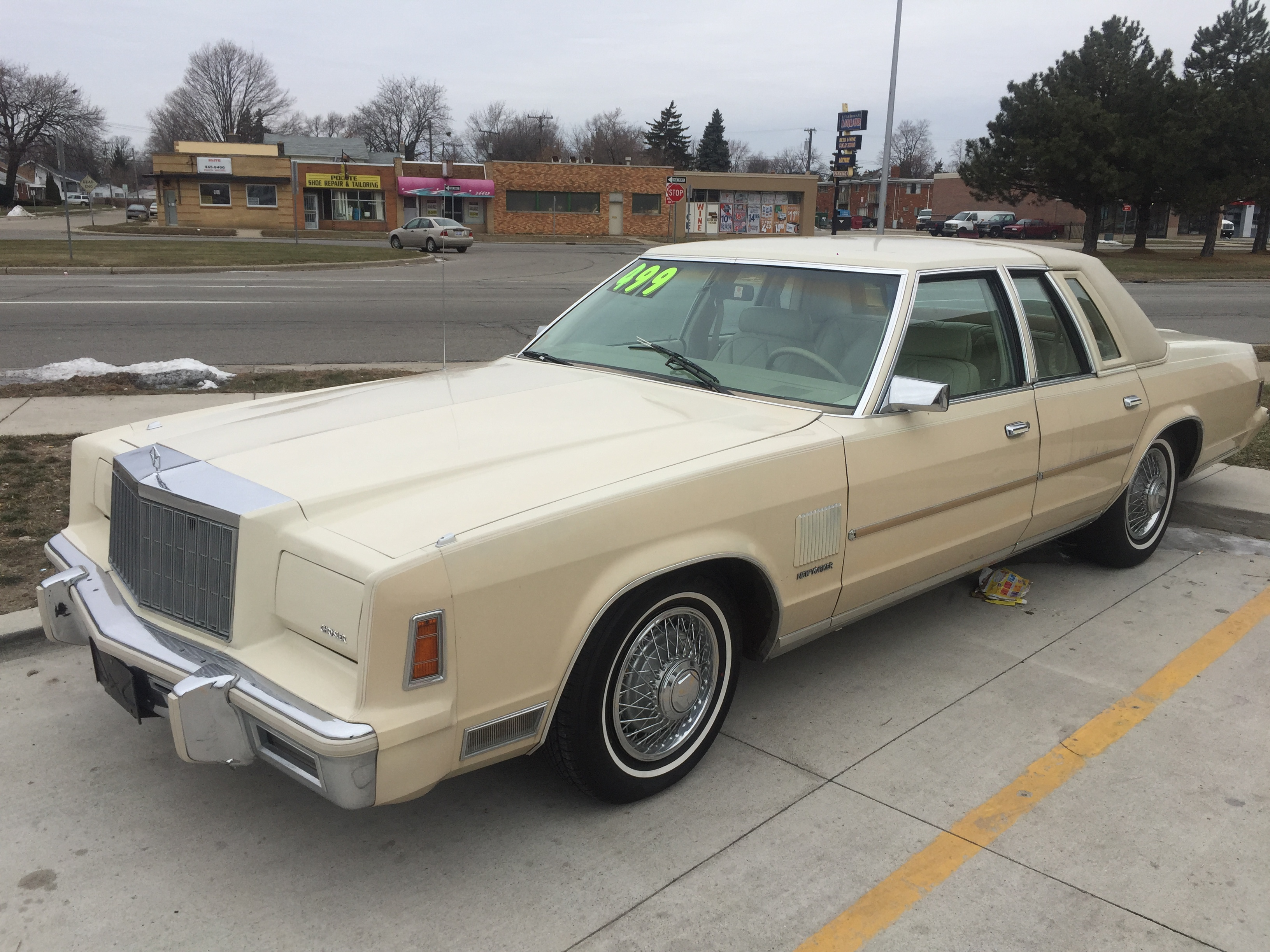 Curbside Classic 1979 New Yorker Chryslers Deadly Sin 3 The 1978 Cadillac Deville Rockauto At A 79 Fifth Avenue Its Great To Hear Some Positive Remarks In Much Maligned Car Id Love More About Your