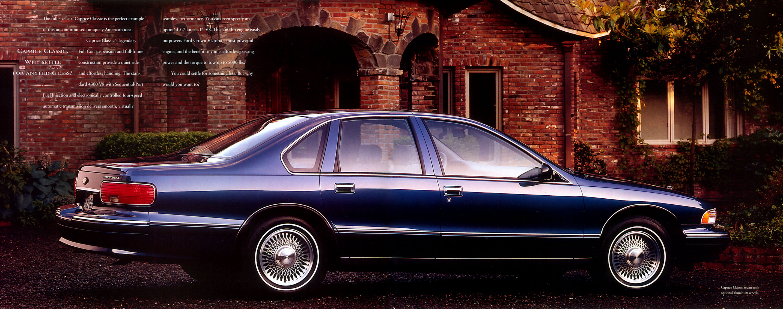 Curbside classic 1994 chevrolet caprice classic ls u2013 last of the best