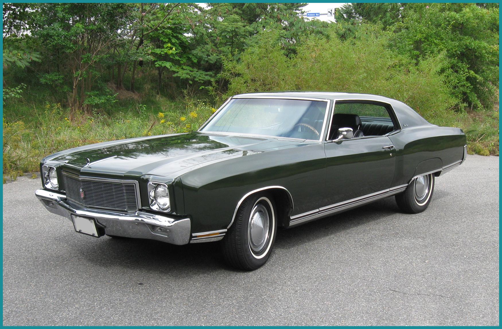 Vintage Reviews Comparison Test 1970 Chevrolet Monte Carlo
