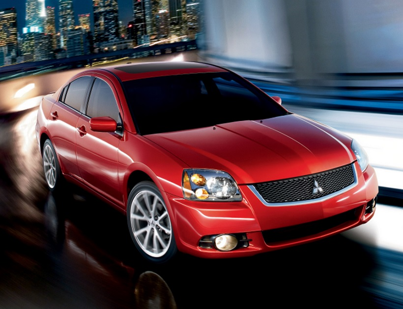 rental car review 2012 mitsubishi galant grade c