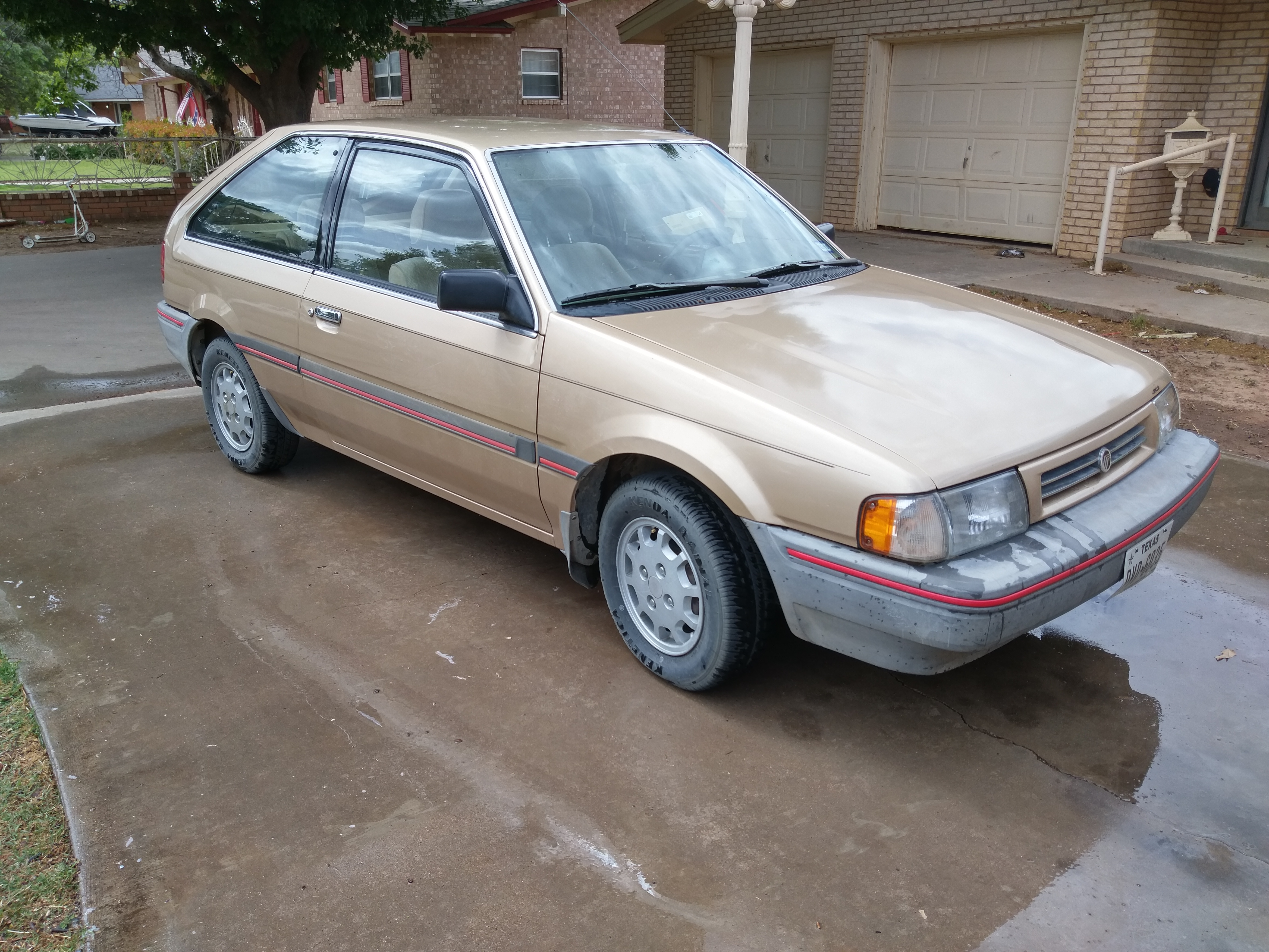 Cohort Classic: 1989 Mercury Tracer – The Almost Forgotten One
