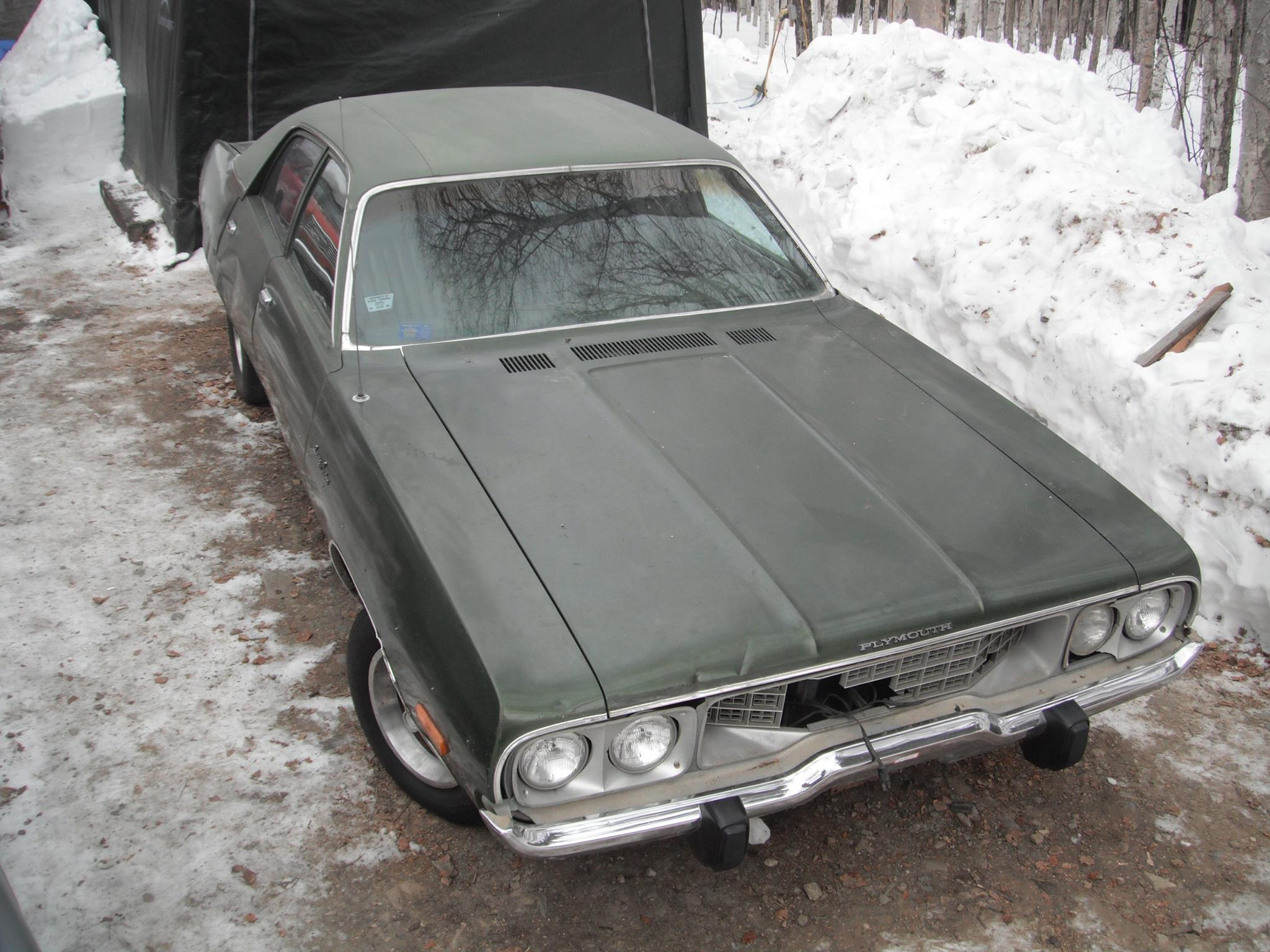 CC Outtake 1971 Plymouth Satellite – Poetry In The Parking Lot