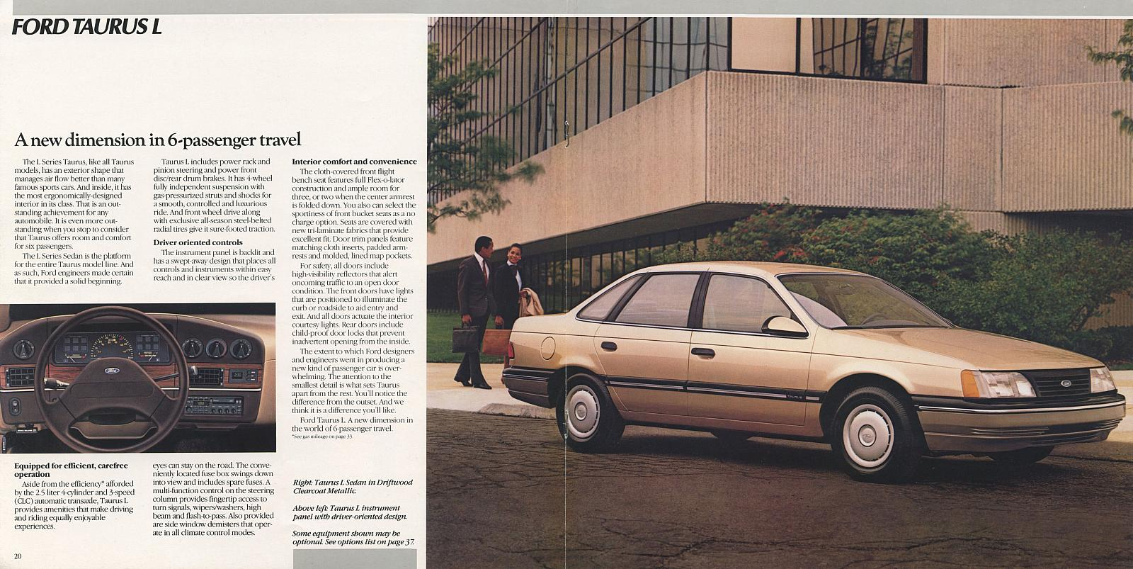 Cc Capsule Ford Taurus Gen1 The Best Seller Has Become Scarce Fuse Box 95 First And Second Generation Grille Was Not Listed As Standard On All Year Models Early 1986 L Were Shown With A More Traditional