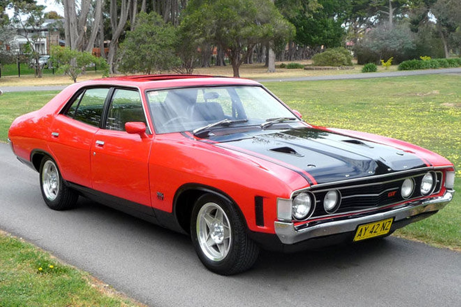 XA GT 351 Lot 6 HO 4 T Aussie Muscle Cars Falcons And also Showthread also Spoilers   horn cars additionally Ford Falcon Xb Gallery besides 1 18 Polar White Cosmic Blue 1974 Xa Falcon Superb. on ford falcon xa superbird