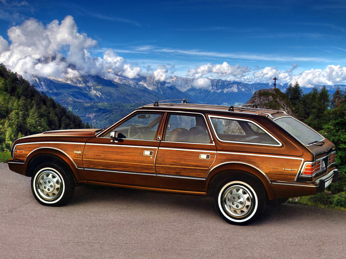 Curbside Classic: 1986 AMC Eagle Wagon – Ahead Of Its Time, And ...